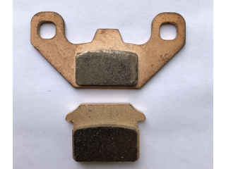 Brake pads rear copper P/L