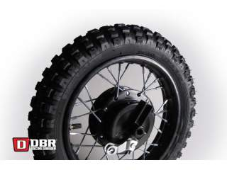 Mini Boxer front wheel complete 10""